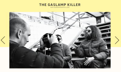 The Gaslamp Killer shot by Stay Gold Photography for Los bangeles